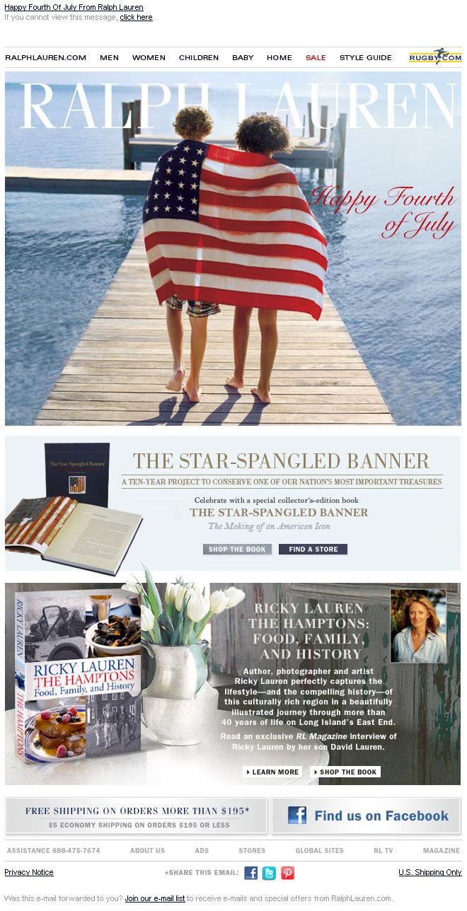 email_marketing_design_week_ralph_lauren_happy_fourth_of_july