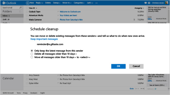 outlook_com_schedule_cleanup