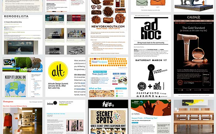 email marketing inspiration sub site launched by mailchimp