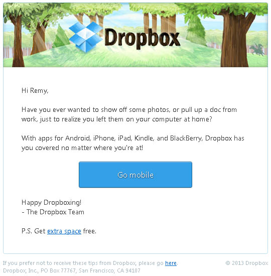 dropbox_mobile_email_marketing_promotion