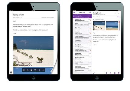 New Yahoo! Mail app launched for iPad and Android tablets