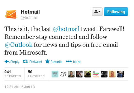 hotmail_shut_down_last_tweet