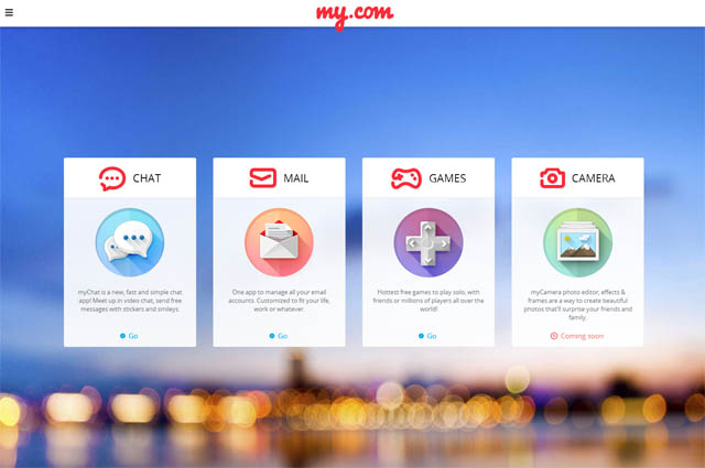 my.com-website-mymail-mychat-mygames-mycamera