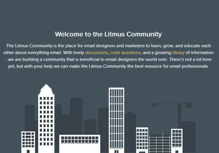 Litmus Community launched