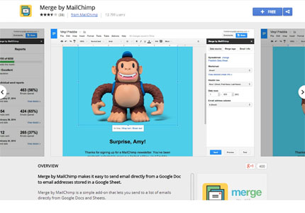 Merge by MailChimp introduced