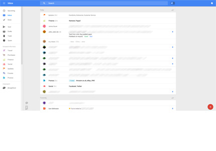New Gmail layout being tested by Google