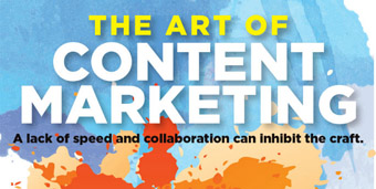 The art of content marketing Infographic
