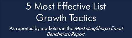 5 effective list growth tactics