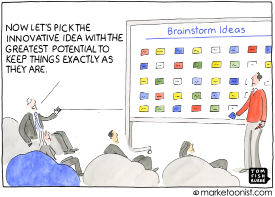 How to do innovation in marketing