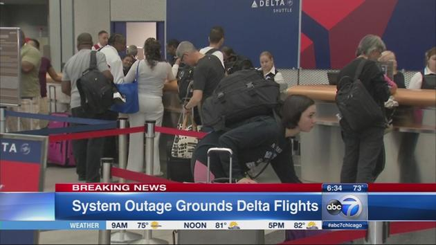 delta airlines outage