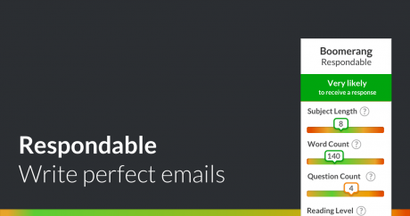 boomerang respondable write better emails