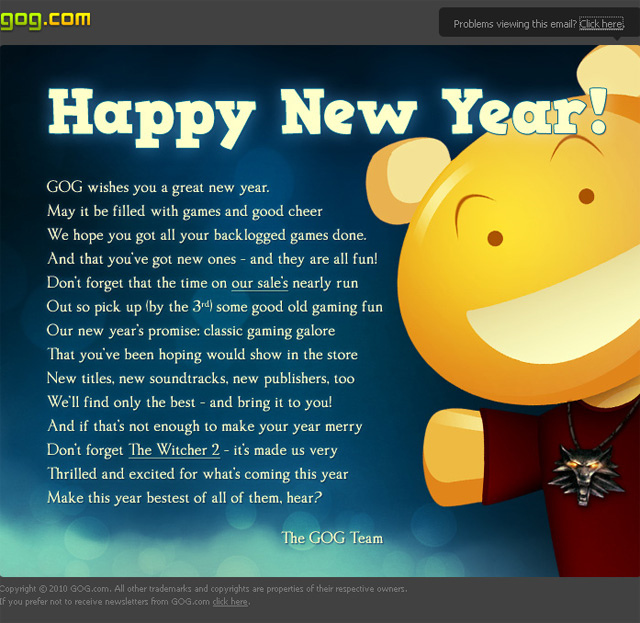 Happy New Year Email 26
